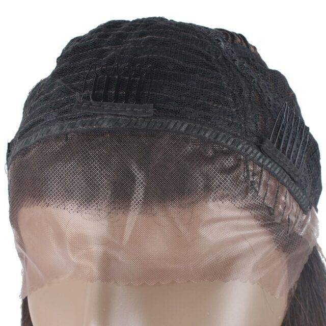 VeryYu Black Long Wavy Lace Front Synthetic Hair Wig Hair Extensions & Wigs  VeryYu the Best Online Store for Women Beauty and Wellness Products
