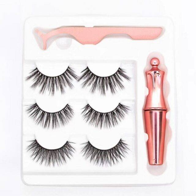 VeryYu Set of Natural Magnetic Eyelashes Eyes Care  VeryYu the Best Online Store for Women Beauty and Wellness Products