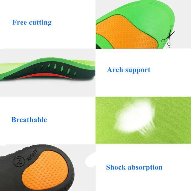VeryYu High Quality Unisex Orthotic Shoe Insole for Flat Feet Wellness  VeryYu the Best Online Store for Women Beauty and Wellness Products
