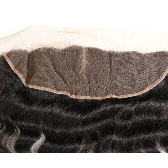 VeryYu 10-20 inch 13×4 Free Middle Part Natural Color 100% Remy Human Hair Hair Care Hair Extensions & Wigs  VerYYu