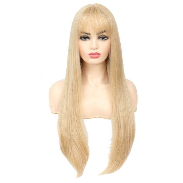 VeryYu 20-28 inches Straight Synthetic Wigs Hair Care Hair Extensions & Wigs  VerYYu