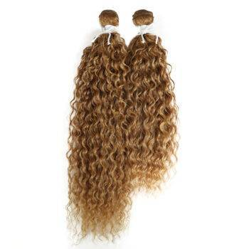 VeryYu Kinky Curly Synthetic 2 pcs Hair Extensions Bundle Hair Care Hair Extensions & Wigs  VerYYu