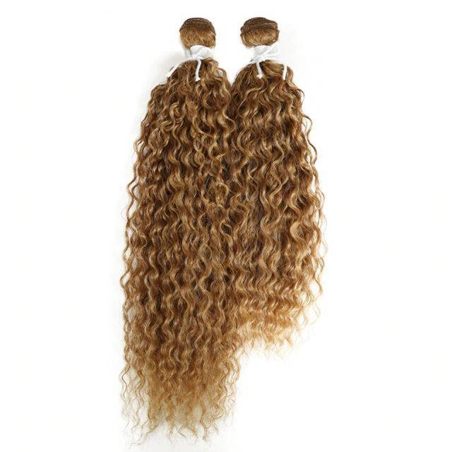 VeryYu Kinky Curly Synthetic 2 pcs Hair Extensions Bundle Hair Care Hair Extensions & Wigs  VerYYu